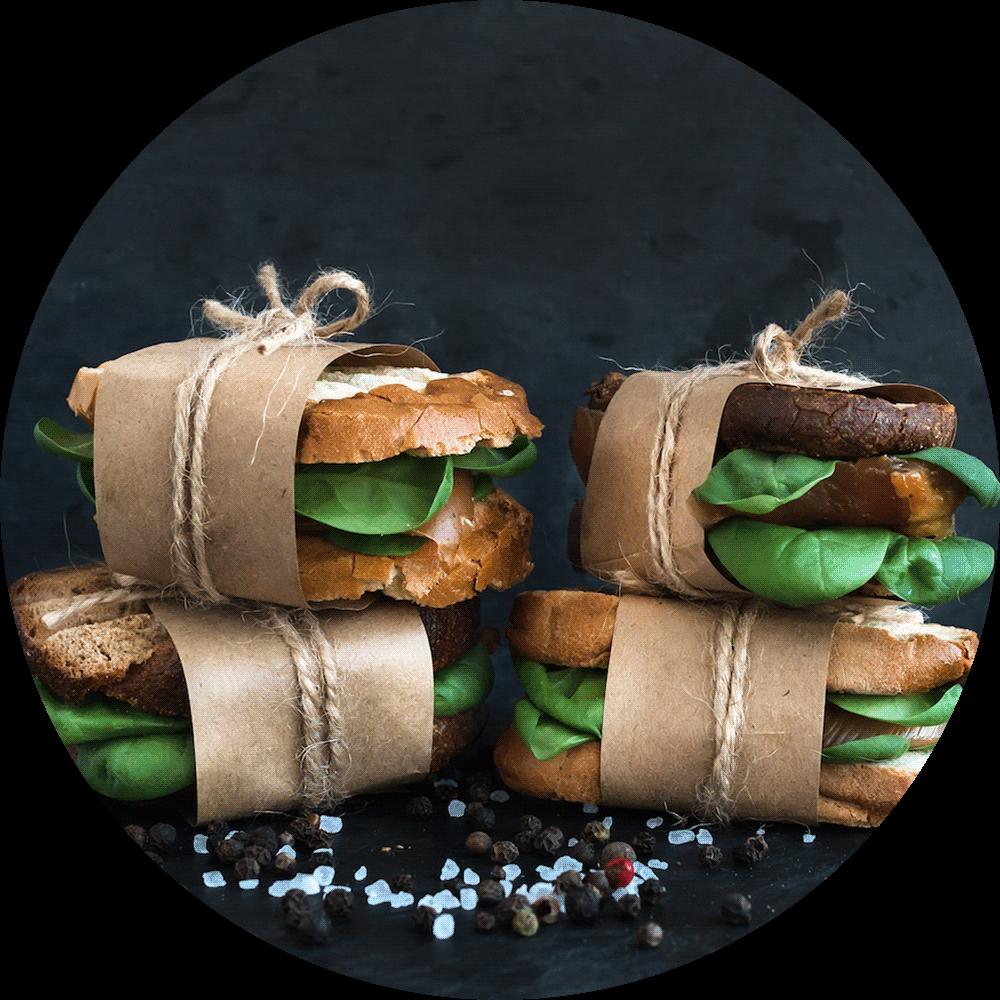 the Gourmet Sandwich